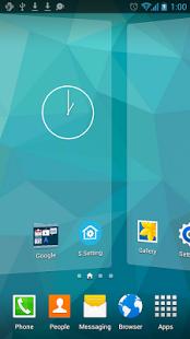 اللانشر الاجمل الشبيه بالاس5 S Launcher Prime 2.5 Apk (Galaxy S5 Launcher)